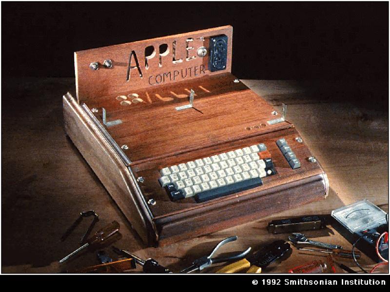 (1976) Apple I Smithsonian