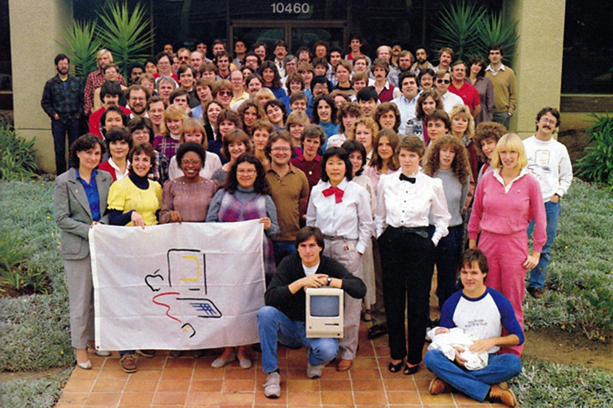 (1983) Macintosh Team