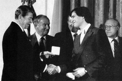 (1985) Ronald Regan