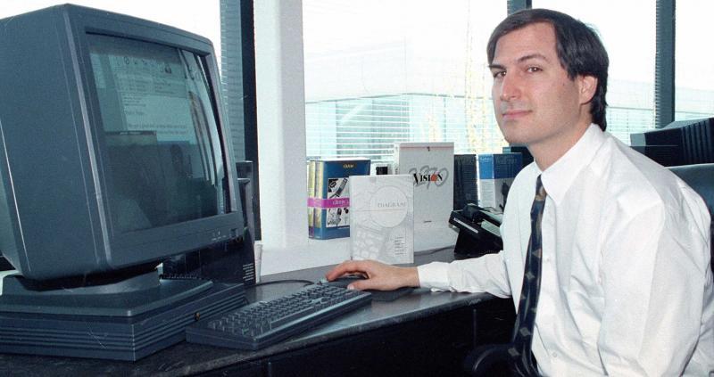 (1989) Steve Jobs & NeXT Cube