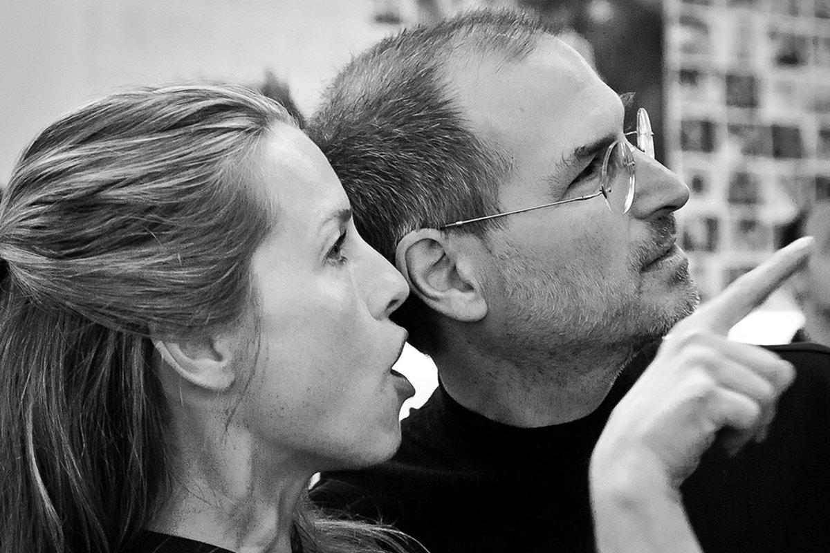Steve Jobs & Laurene Powell