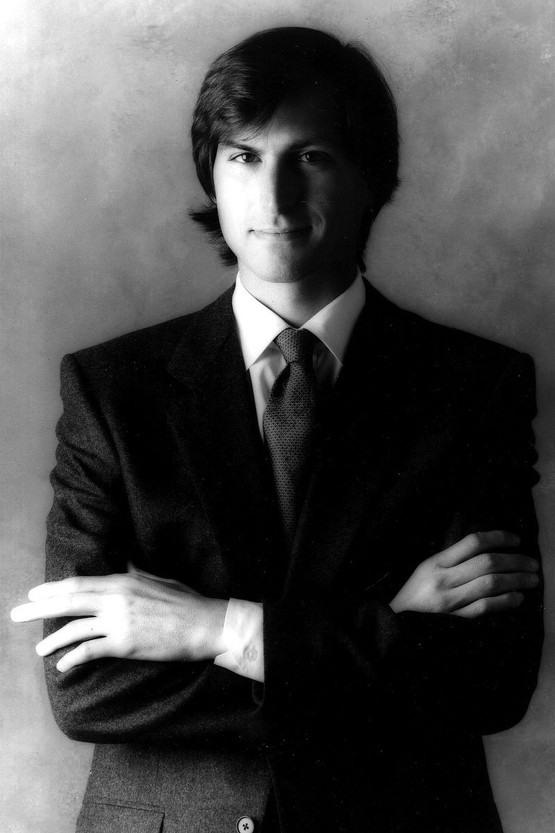 STEVE JOBS, portrait
