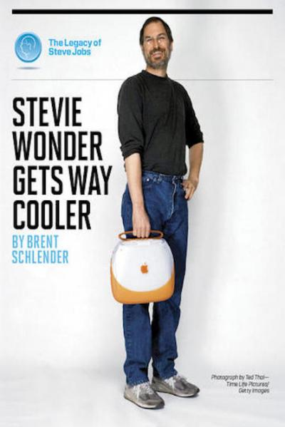 Stevie Wonder Gets Way Cooler The Legacy of Steve Jobs