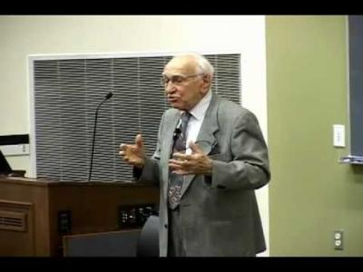2009 Myers Lecture Series – Dr. Borish