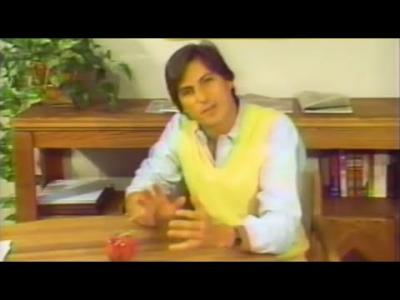 Steve Jobs featured in Apple IIe promo video (1983)
