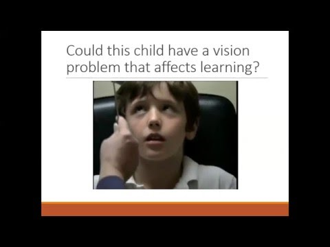 The Vision and Learning Connection