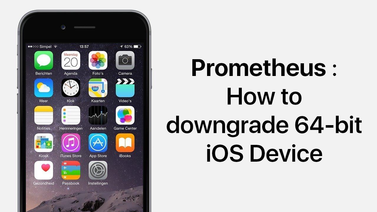 Come effettuare il downgrade di iOS con Prometheus | Guida
