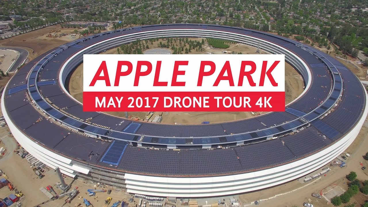 Apple Park: ecco l'aggiornamento di Maggio in un nuovo Video 4K