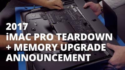 iMac Pro: primo teardown del modello base conferma le possibilità di aggiornamento [Video]