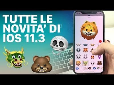 Apple rilascia iOS 11.3: ecco tutte le novità [Video]