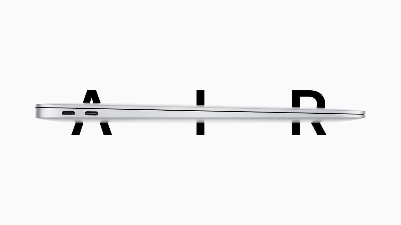 Apple presenta il nuovo MacBook Air! [Video]