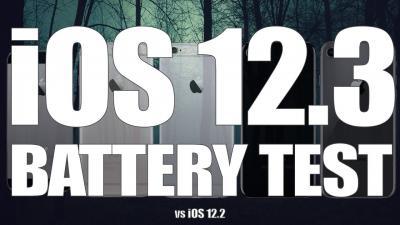 iOS 12.3 a confronto con iOS 12.2 sulla durata della batteria [Video]